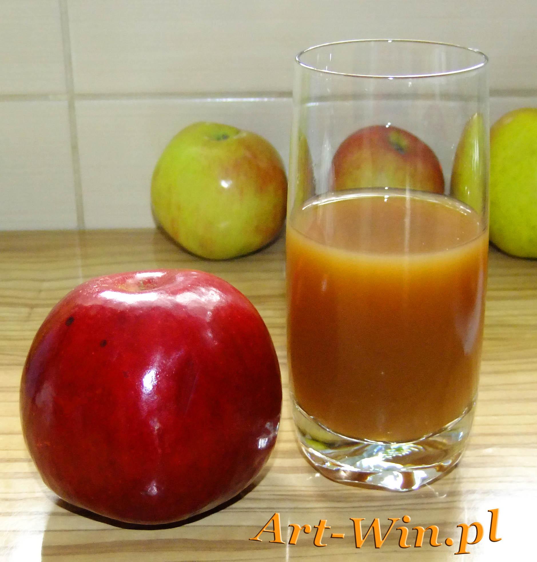 Sok jabłkowy domowym sposobem