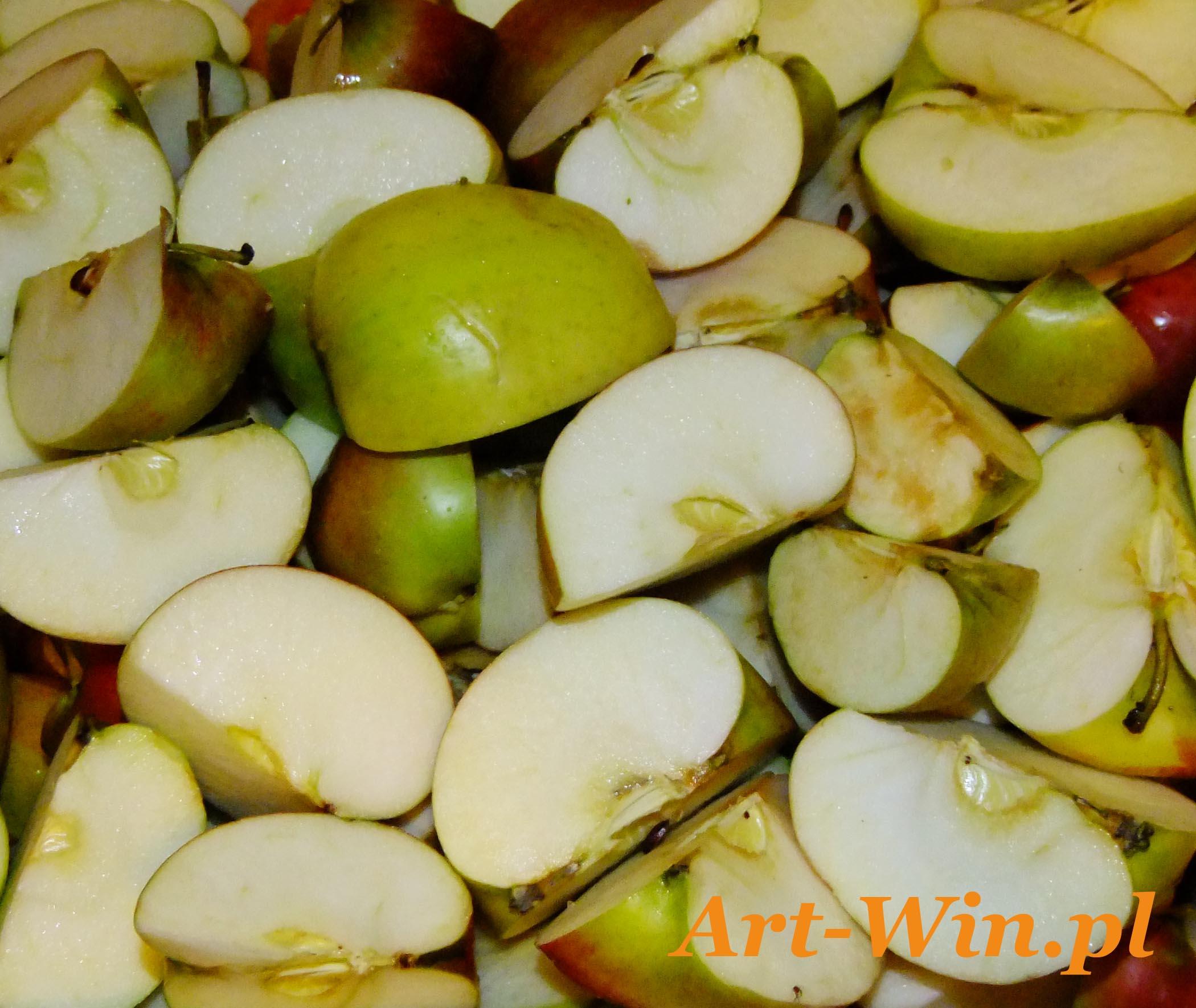 Odpowiednie przygotowanie jabłek
